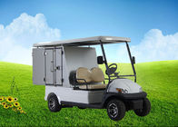 Aluminum Box Custom Electric Golf Carts With Roof Rack For Hotels and Resorts