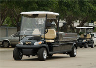 CE Approved Utility Golf Cart , Motorized Utility Vehicles With Cargo Box