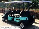 48V 6 Passenger Electric Golf Cart With Aluminum Chassis For Transportation
