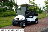 Aluminum Chassis 2 Seater Electric Golf Cart 3.7kw KDS Motor For Golf Course
