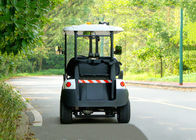 Small 2 Seater Electric Patrol Car For Public Safety Half - Closed Type