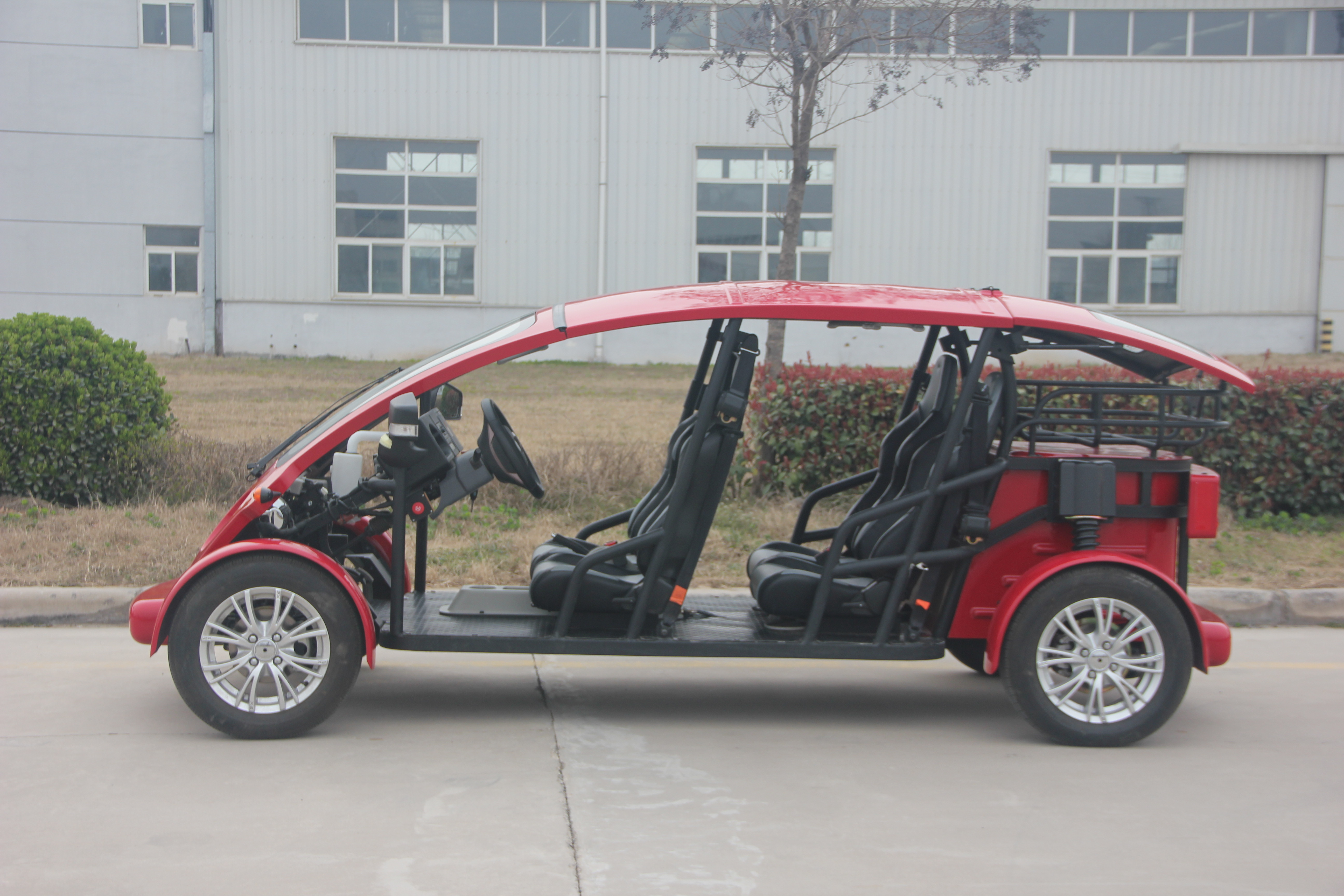 EEC Electric Sports 4 Seater Golf Cart Safety Faster With DoT Certification