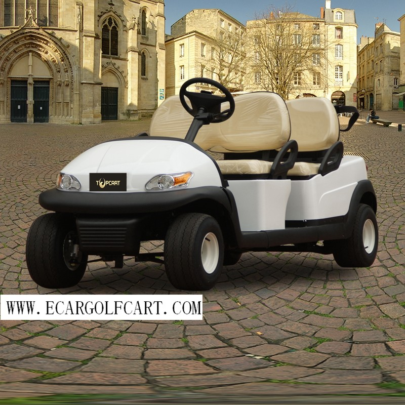 Customized Electric Golf Beverage Cart 4 Seater Range up to 50 Miles Per Charge